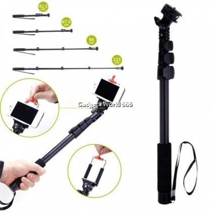 YUNTENG YT-188 Selfie Stick Monopod