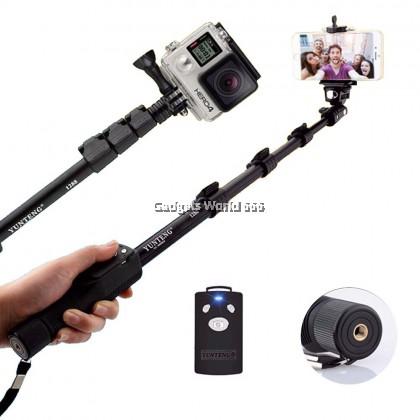 100% Yunteng YT 1288 Selfie Stick Monopod Bluetooth Remote Control Camera Shutter