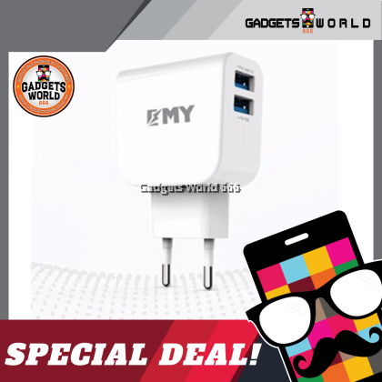 100% EMY Travel Charger MY-261