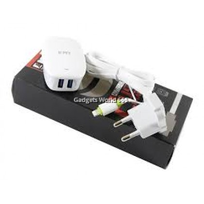 100% EMY MY-228 FAST CHARGER DUAL USB PORT AUTO ID 2.4A MAX