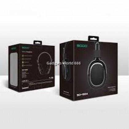 100% SODO SD-1004 Bluetooth 5 Dual Mode Wired Wireless Headphone AUX TF Card FM