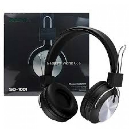 100% SODO SD-1001 Bluetooth 5 Dual Mode Wired Wireless Headphone AUX TF