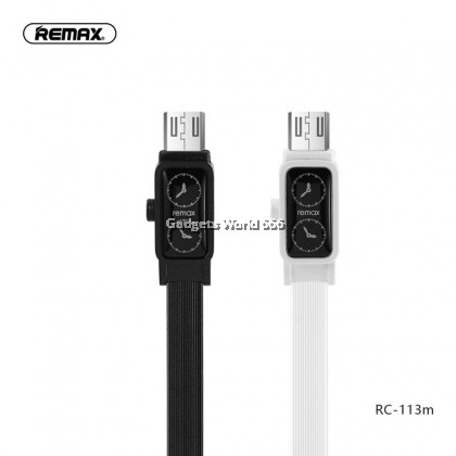 Remax RC-113m 2.4A Fast Charging Watch Data USB Cable Micro