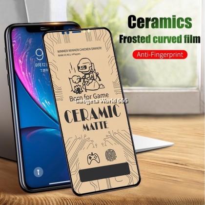TEMPERED GLASS CERAMIC MATTE FULL FOR VIVO Y93