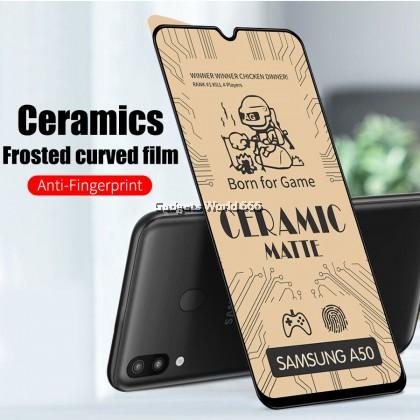 TEMPERED GLASS CERAMIC MATTE FULL FOR HW Y5 2019