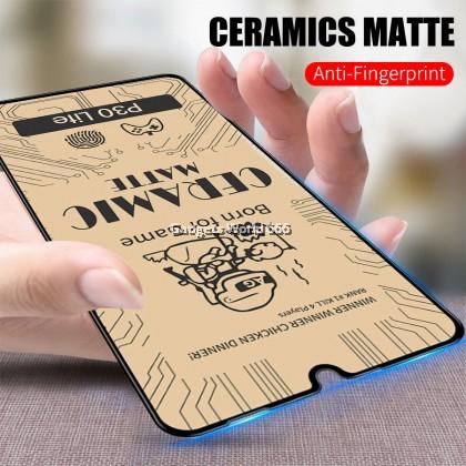 TEMPERED GLASS CERAMIC MATTE FULL FOR Y7 PRO 2019
