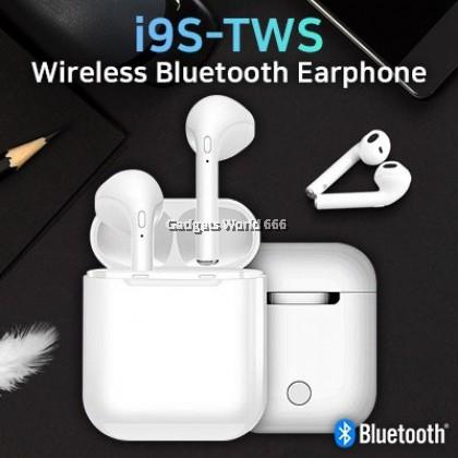 I9S TWS Wireless Earphone 5.0 Bluetooth Headset Earbud for all smart phone