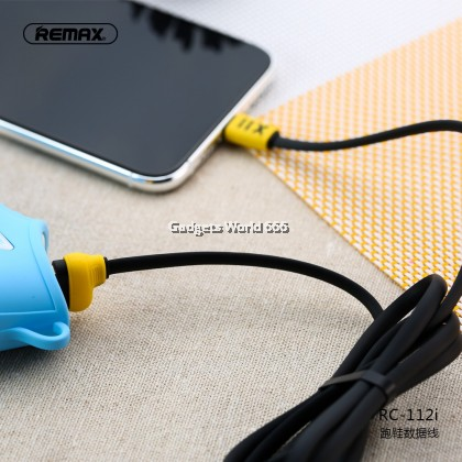 Remax RC-112 Running Shoe Cable Fast Charging 2.4A Type-C USB 1M Length Efficient