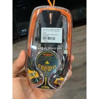 Moxom MX-HC36 2.4A Crown Wall Charger UK Plug - KC DYNAMIC