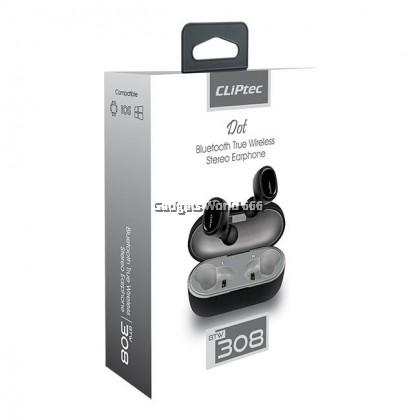 100% CLiPtec DOT Bluetooth True Wireless Stereo Earphone BTW308