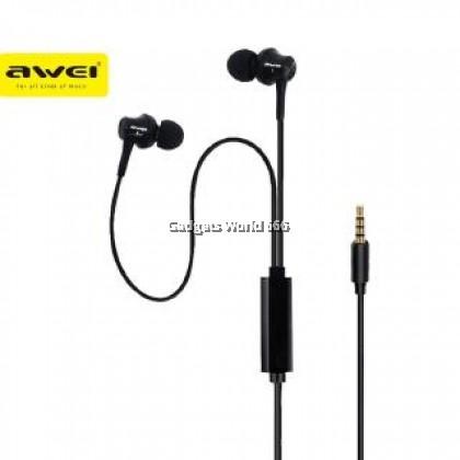 100% AWEI PC-1 MINI STEREO IN-EAR EARPHONES
