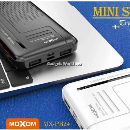 100% Genuine Moxom Powerbank MX-PB24 10000MAH CAPACITY