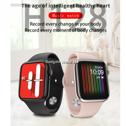 100% 2020 Call smart watch Colorful Screen Smart Bracelet Heart Rate H128 Sport Watch Blood Pressure Monitor Smart watch pk IWO10 W34 W58
