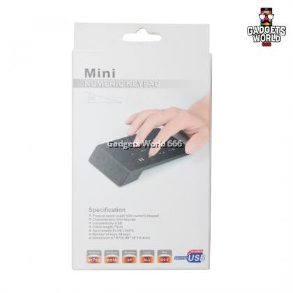 New USB Mini 18-keys Num Pad Numeric Number Keypad Keyboard for Laptop Note