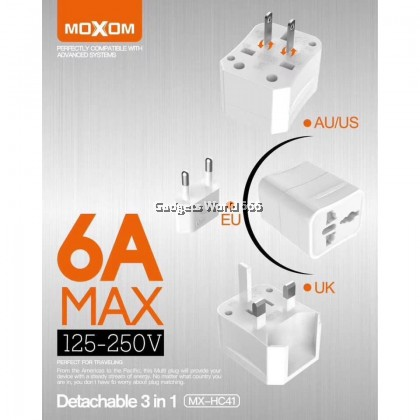 MOXOM MX-HC41 MAGIC CUBE UNIVERSAL PLUG TRAVELLING PLUG