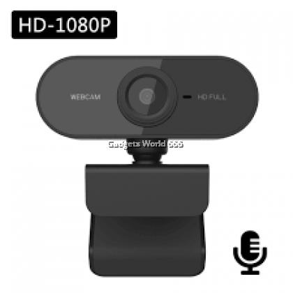 100% Webcam V6 HD 1080P Web Cam Camera Mini Computer Pc Web Camera 360 Degree