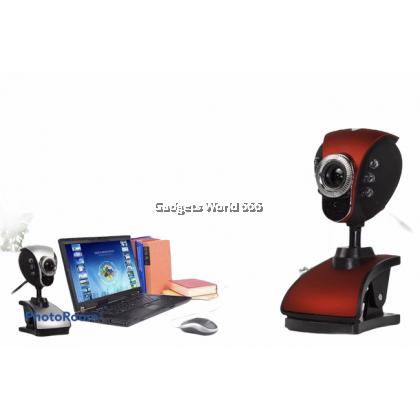 100% Webcam Fire Phoenix 899 Digital Camera Desktop Camera with Night Vision Lamp
