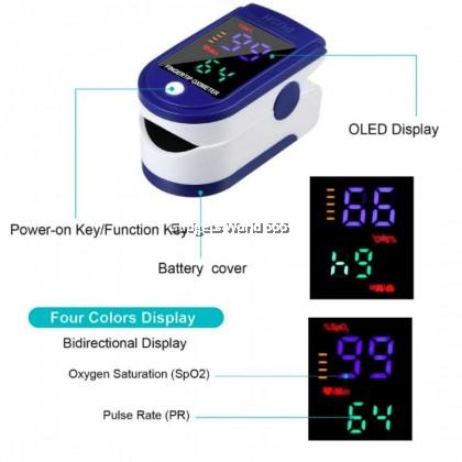 Portable Finger Oximeter LK-87 Fingertip Pulse Oximeter Medical Equipment With Sleep Monitor Heart Rate Spo2 PR Pulse Oximeter