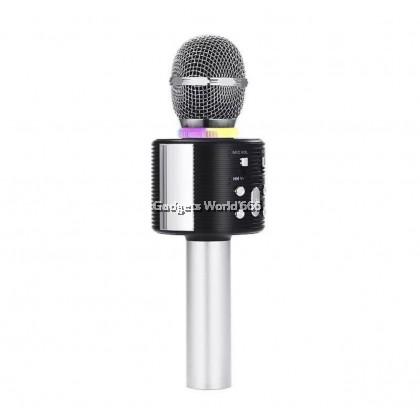 V6 Bluetooth Microphone Speaker Karaoke Mic Wireless Karaoke Microphone Speaker Record Music