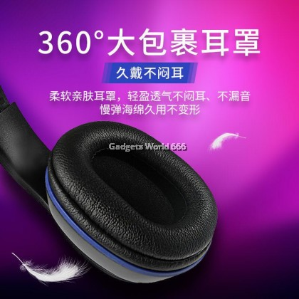 KONIGSAIGG K2 Pro Over Ear Bass Stereo Surround Gaming Headphone Headset With Microphone