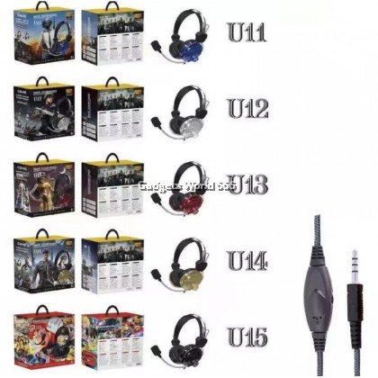 U-SERIES GAMING HEADPHONES/HEADSET STEREO HEADSET W/MIC