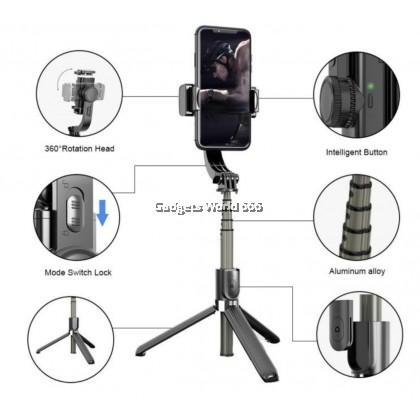 GIMBAL STABILIZER L08 Mobile phone stabilizer anti-shake handheld PTZ video shooting Vlog tripod selfie stick
