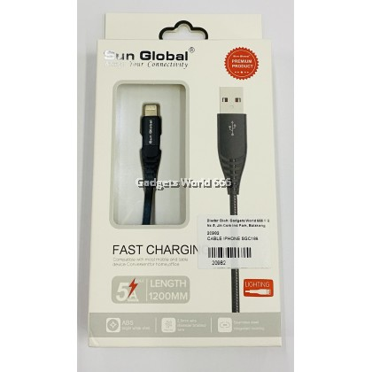 FAST CHARGING CABLE 5A IP SGC188