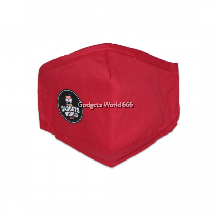 EXCLUSIVE FACE MASK GW666 FABRIC / 3 LAYERS WITH POCKET / WASHABLE FACE MASK