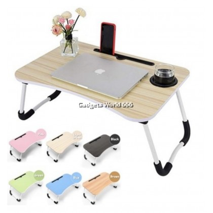 Foldable Table Anti-slip Bed Laptop Table Notebook Table Portable Computer Desk Study Table