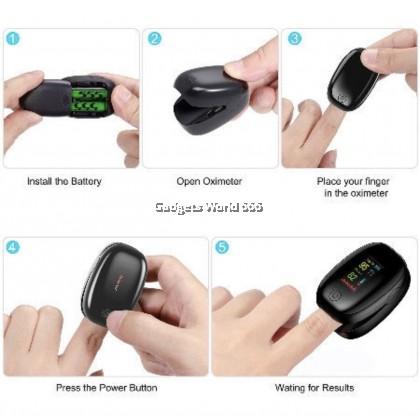 Finger Oximeter Fingertip Pulse Oxymeter Spo2 Monitor Oxygen Meter OXIMETER TFT LED Pulse Oximeter SMH-01 Heart Rate